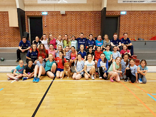 Handball Trainingscamp Walddörfer SV Tonder